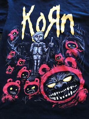 Vintage Korn Licensed T-shirt 2008 Band Shirt Graphic Metal Tee  Rare