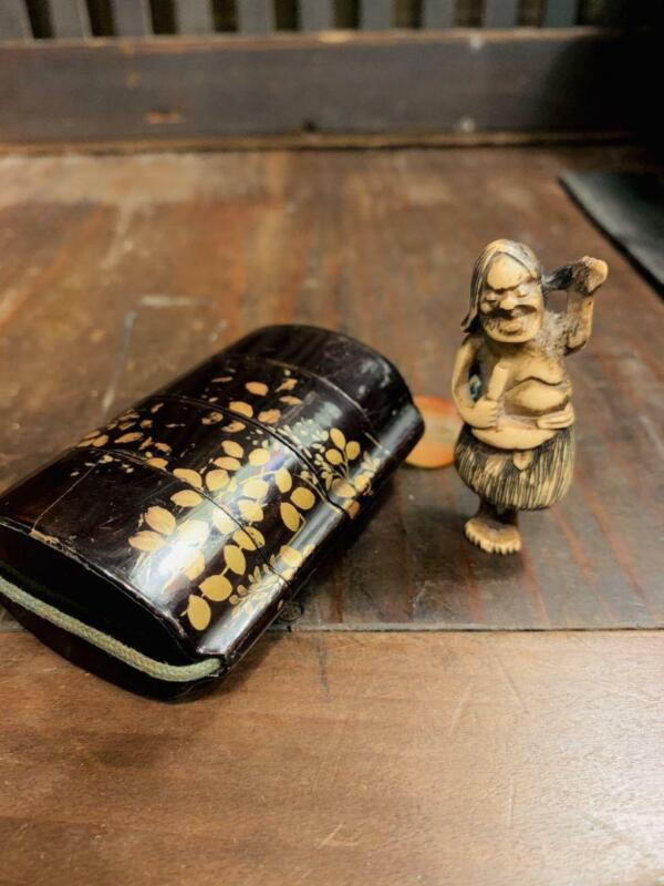 Inro Ojime Netsuke Vintage Ancient art Rare Antique Collector item