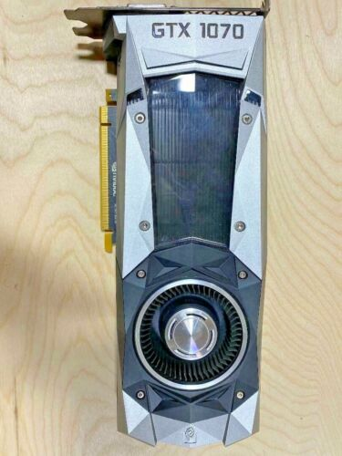 NVIDIA GeForce GTX 1070 Founders Edition 8GB GDDR5 Graphics Card