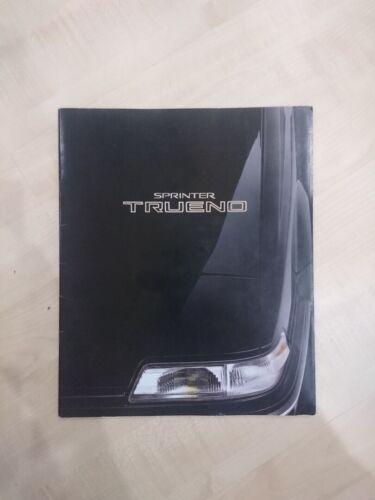 AE92 AE91 TOYOTA SPRINTER TRUENO catalog book