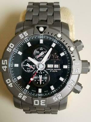 Invicta Sea Base Automatic Watch- 53mm Titanium Case/Band - Valjoux 7750 - 14216