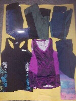 C9 Champion Fila Tek JGX Womens Leggings Capri/Long Shirts Size L & XL Lot of 6