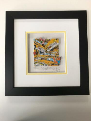 "John Suchy 3 D Artwork "" Gridlock ""  Signed & Numbered Like Rizzi"
