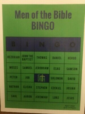 Bible Bingo Game (Men of the Bible)](Bible Bingo Game)