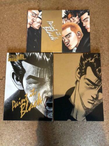 Paint It Black / Rokudenashi Blues Masanori Morita Original picture collection