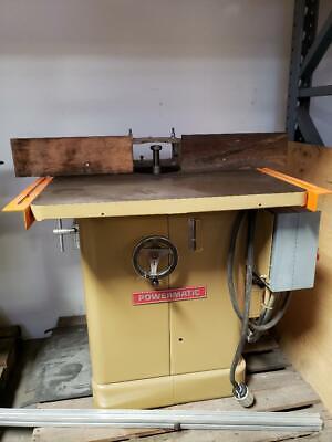 Powermatic Shaper Model 26 Woodworking Machinery