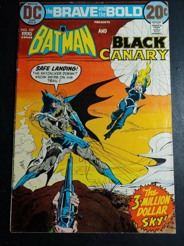 Brave and the Bold #107 FN- 5.5 1973