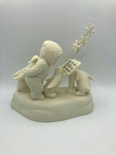 SnowBabies Dept 56 Ode To Snow Penguins Figurine 5605927 New in Box