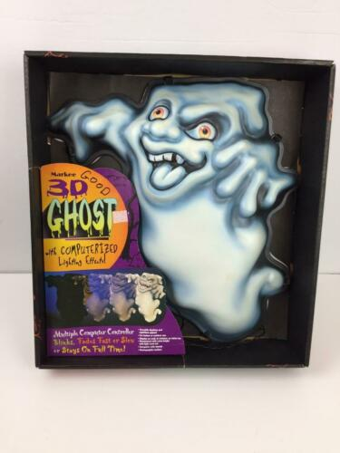 Vintage 1997 Markee 3D Ghost with Computerized Lighting Effects Halloween Decor