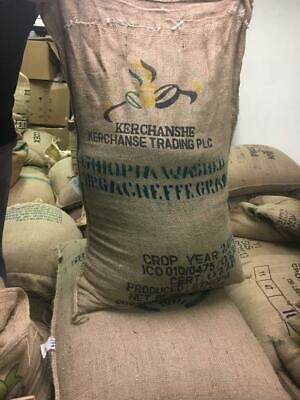 5 lb of Ethiopian Yirgacheffe Green Coffee Beans All Natural 5 Lb Green Coffee