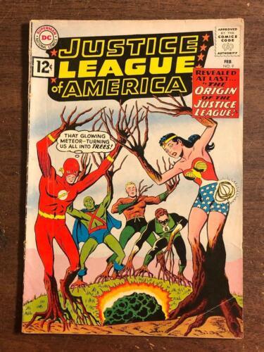 Justice League of America #9 DC Comics 1962