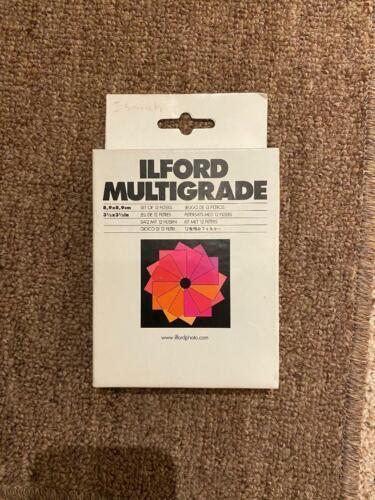 ILFORD MULTIGRADE FILTERS - NEW