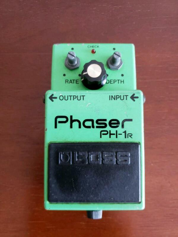 BOSS PH-1R PHASER Guitars Effects Pedals