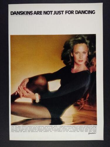 1974 Danskin Leotards woman color photo vintage print Ad