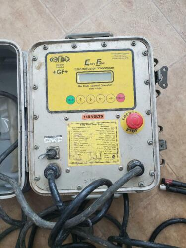 Central Plastics +GF+ Easy Fuse Electrofusion Plastics Welding Machine