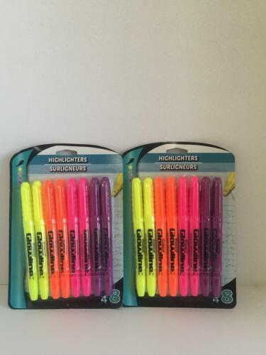 Promarx highlighter pen markers 8 pk lot of 2