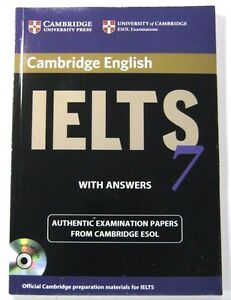 IELTS 7 ESOL OFFICIAL CAMBRIDGE STUDENT'S BOOK WITH ANSWERS AND MP 3 C D