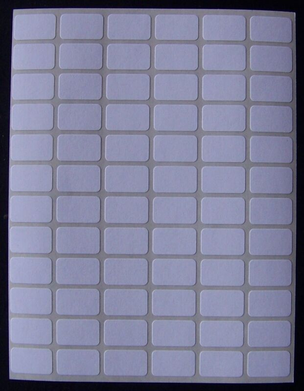 "500 All Purpose Removable Adhesive Price Labels Tags Stickers Square 3/8""x5/8"""