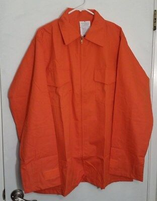 6 Oz Nomex Iiia Wildland Fire Fighting Brush Shirt Barrier Wear 4052 Orange Xl