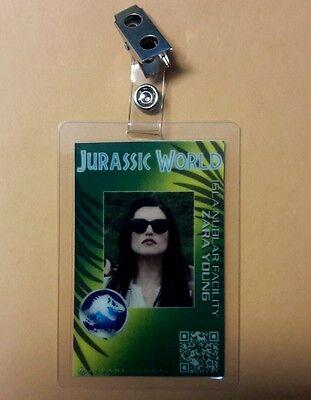 Jurassic Park World Id-Plakette - Zara Junge Kostüm Requisite Cosplay Grün ()