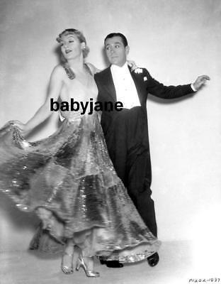 071 CAROLE LOMBARD GEORGE RAFT DANCING PHOTO