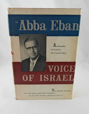 Voice of Israel; Abba Eban; Signed