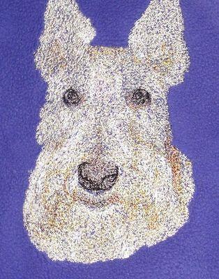 Embroidered Sweatshirt - Scottish Terrier AED16413 Sizes S - XXL