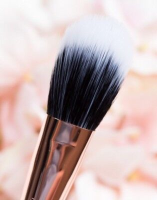 Make-up Blush Duo (DUO FIBRE POWDER BLUSH MAKEUP BRUSH LIKE 159 Vegan Synthetic Hair Face Make Up)