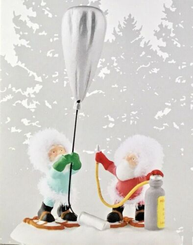 Dept 56 LAST TEST BEFORE TAKEOFF 4050973 NORTH POLE Village Department56 NEW D56
