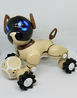 WowWee CHiP Robot Toy Dog - Chocolate