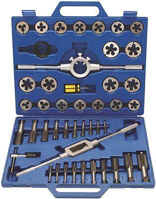 BGS Gewindeschneidwerkzeug-Satz M6-M24 45-tlg Gewindeschneider Gewindebohrer Set