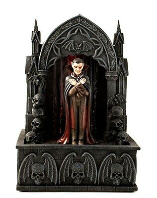 VAMPIRE RAIN FALL WATER FOUNTAIN CAN BE USED WITH LEMAX SPOOKY TOWN NEW