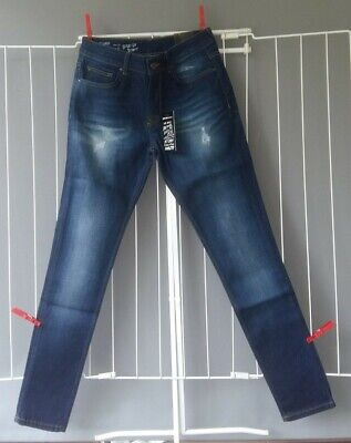 "Brand New Hoxton Denim Spray on Skinny Jeans 30"" Waist 32"" Leg"