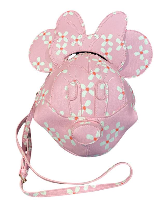 Danielle Nicole Disney Minnie Mouse 3D Cherry Blossom Crossbody Bag New In Hand