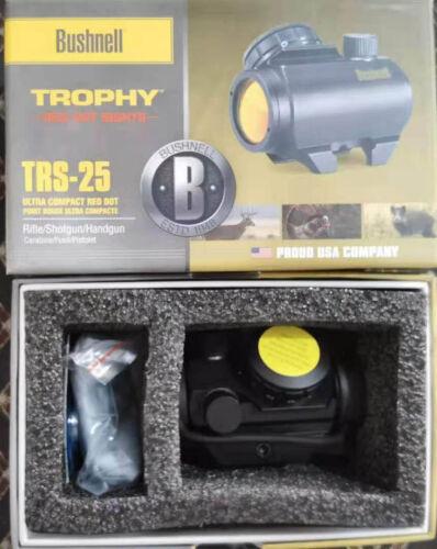NEW Bushnell Trophy TRS-25 Red Dot Sight Riflescope, 1x20mm, Matte black
