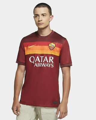 Nike A.S. Roma  2020/21 Stadium Home Soccer Jersey (L) CD4248-614  image
