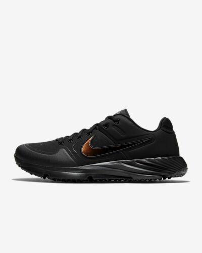 Nike Alpha Huarache Elite 2 Turf Baseball Shoe (Unisex) CI2221 Black