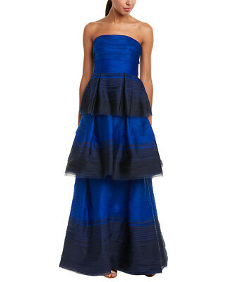 Carolina Herrera Womens  Silk Gown, 4