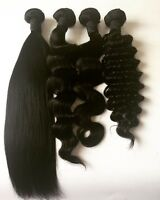Human and Virgin Hair 100g  8A Top Quality