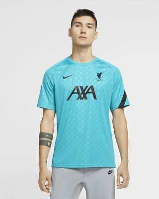 Nike Liverpool FC 2020/21 Pre-match Soccer Jersey CZ2685-300 Men's Size Medium image