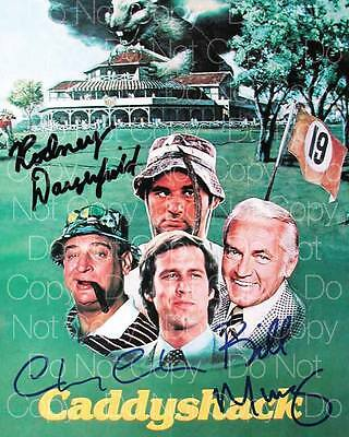 Caddy Shack Murray Chase Dangerfield 8X10 photo picture signed autograph RP 1