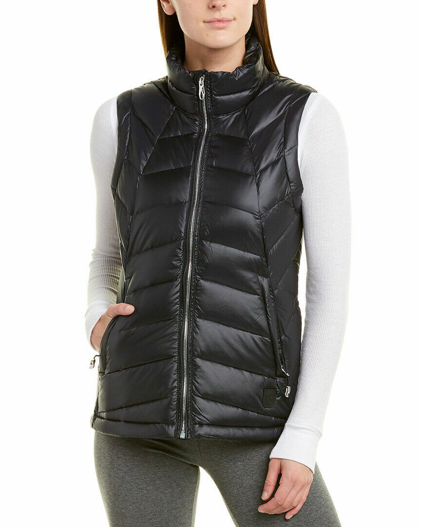 Spyder Women's Syrround DOWN Full-Zip Vest – Black, Large Clothing, Shoes & Accessories
