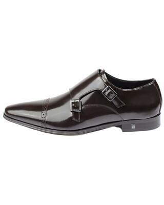 Versace Collection Monkstrap Leather Loafer