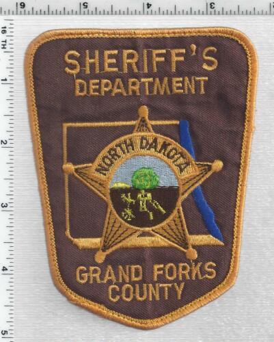 Grand Forks County Sheriff (North Dakota) 3rd Issue Uniform Take-Off Patch