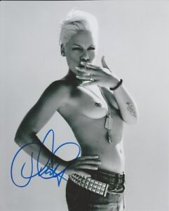 PINK (P!NK) SEXY NUDE SIGNED PHOTO PRINT