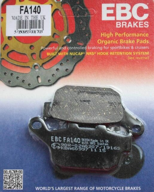 EBC kawasaki Brake pads FA140