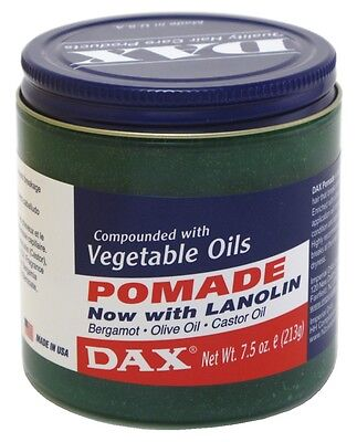 - DAX POMADE (BERGAMOT) 7.5 Ounce JAR