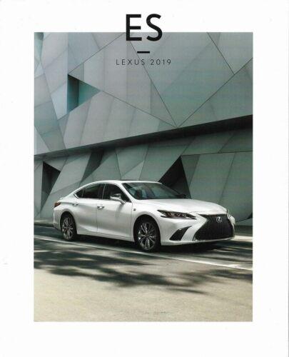 2019 19  Lexus ES original sales brochure