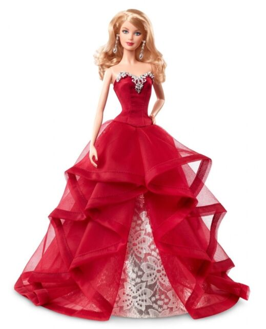 Collector 2015 Holiday Doll - Blonde. Free Delivery
