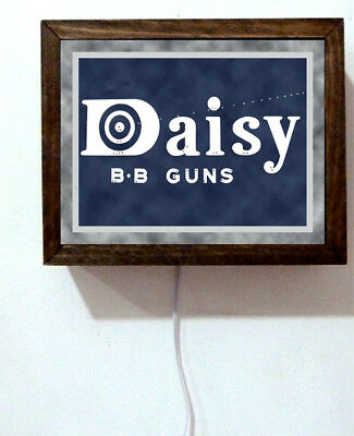 New Daisy Airgun Red Ryder BB Guns Museum Sales Advertising Light Lighted Sign for sale  Shipping to Canada